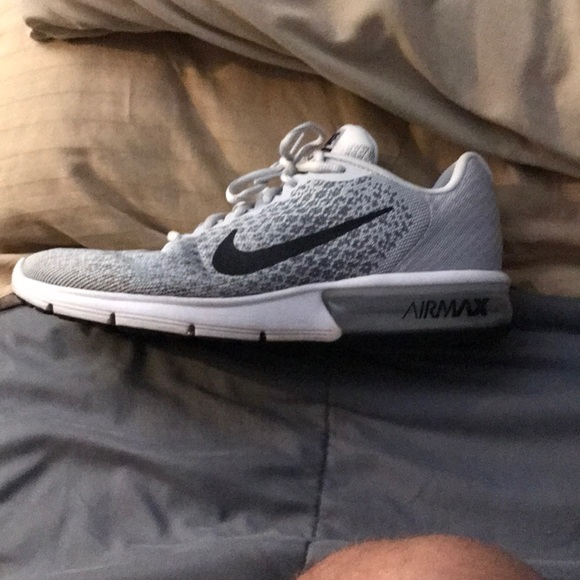 Sneakers – Mens Nike Air Max Sequent 2 GreenBlack Mens, Shoes, Sneakers